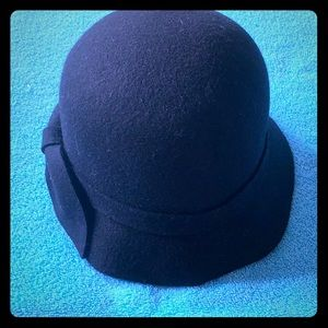 Kate Landry Black Felt Hat